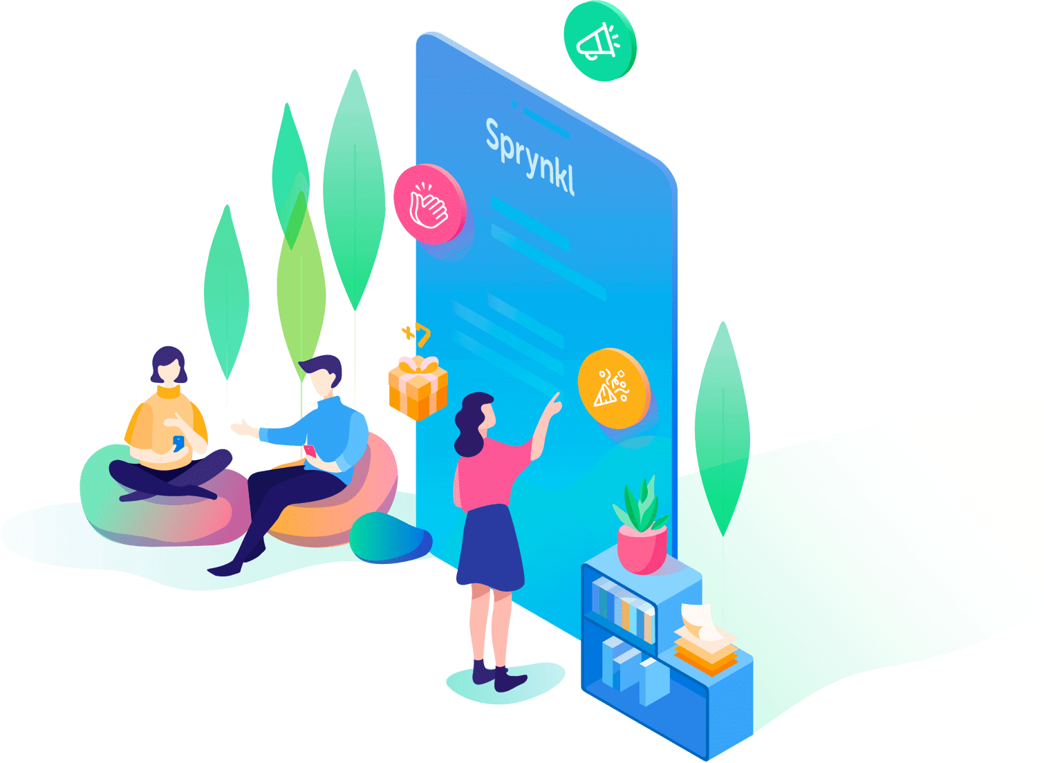 Build a truly social enterprise with Sprynkl